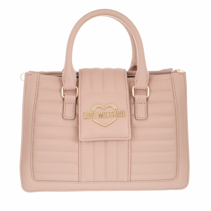 Handtasche, Love Moschino, Borsa Quilted Nappa Pu  Rosa