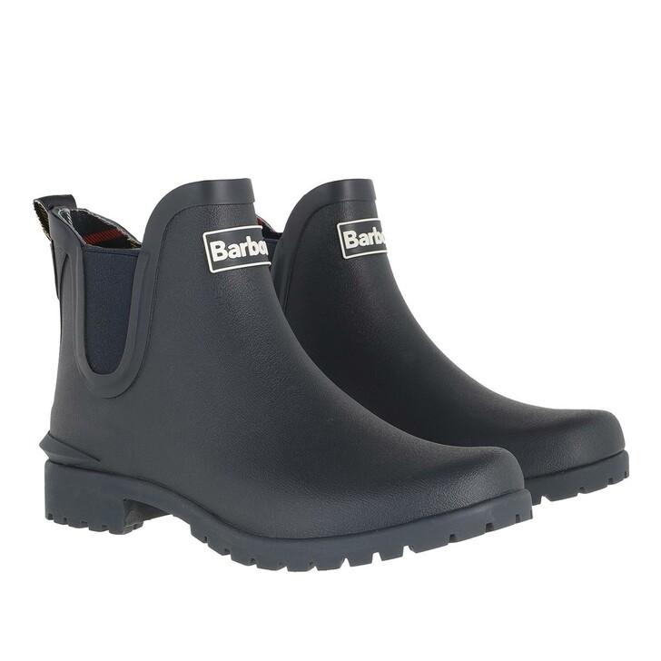 shoes, Barbour, Wilton Boots Navy