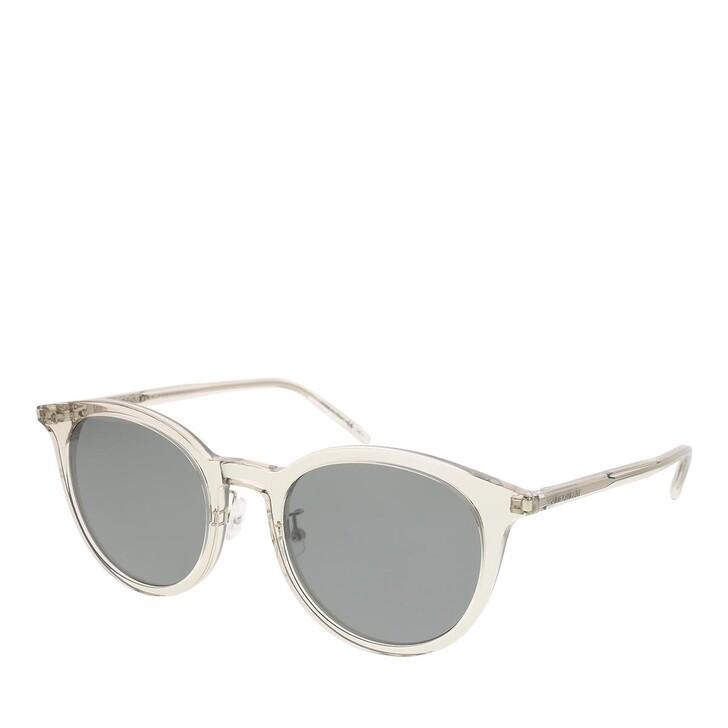sunglasses, Saint Laurent, SL 488/K-004 54 Sunglass Unisex Acetate Beige-Beige-Silver