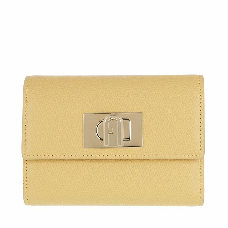 wallets, Furla, Furla 1927 M Compact Wallet - Ares Mimosa