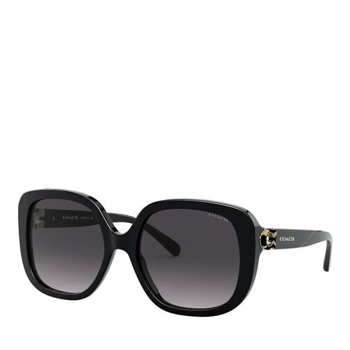 coach -  Sonnenbrille - 0HC8292 - in schwarz - für Damen