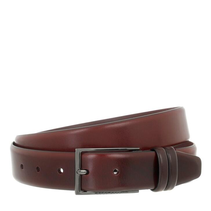 belts, Boss, Men Belt Carmello  Dark Red