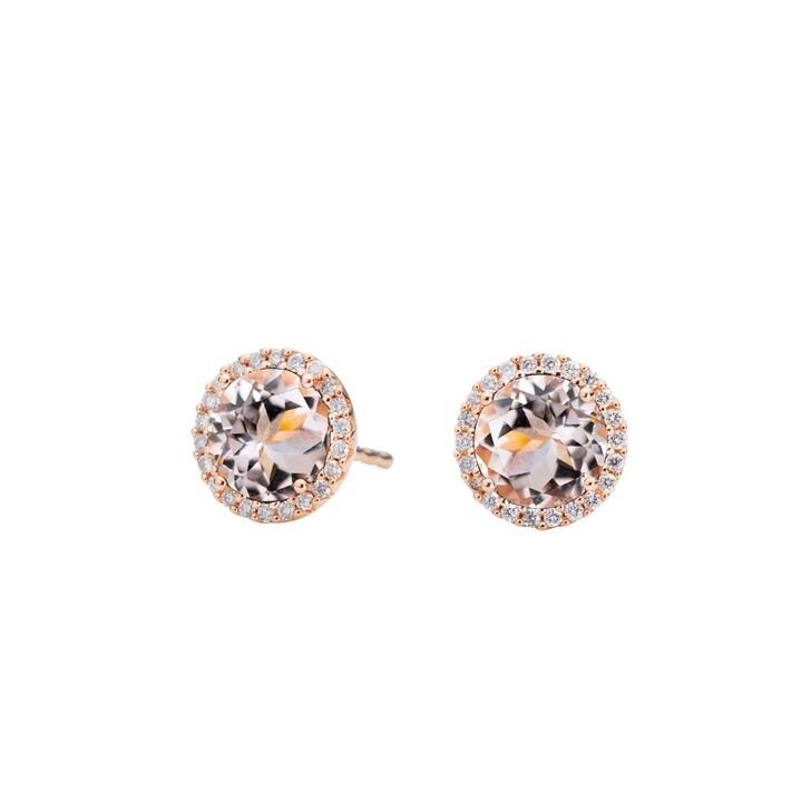 Ohrring, Capolavoro, Earrings Espressivo Morganite Faceted Rosegold