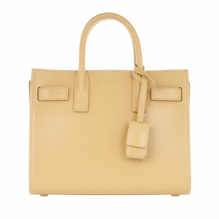 Handtasche, Saint Laurent, Shoulder Bag Leather Avorio