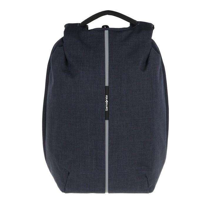 "Reisetasche, Samsonite, Securipak 15,6"" Laptop Backpack Dark Blue"