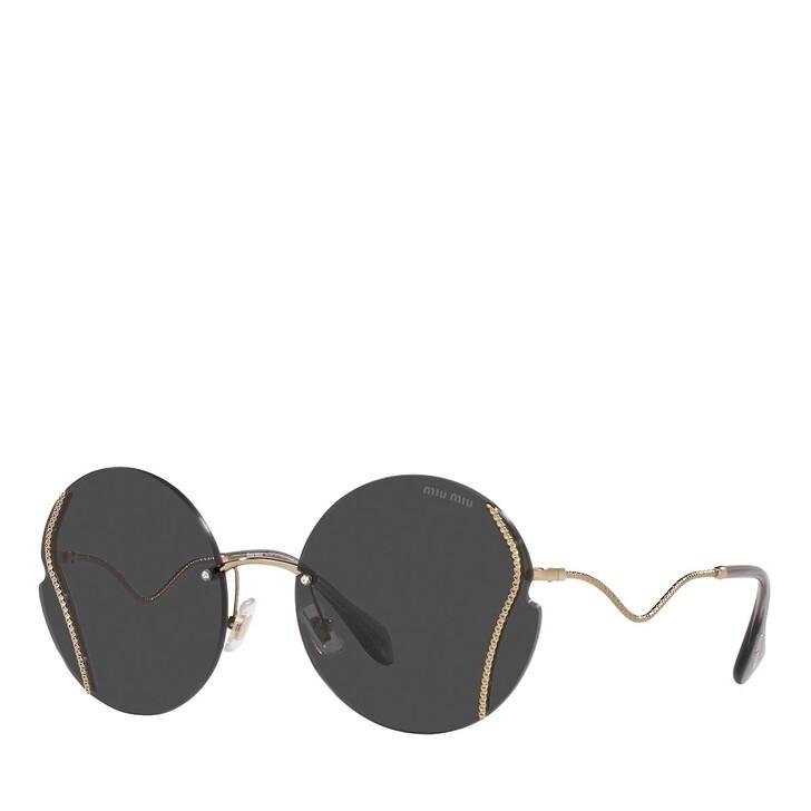 sunglasses, Miu Miu, 0MU 50XS ANTIQUE GOLD