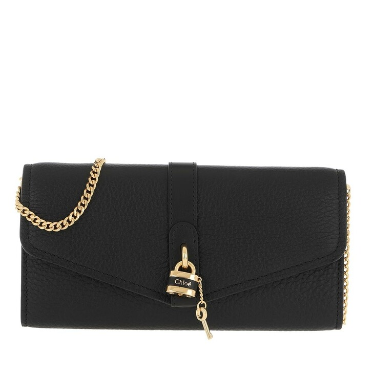 Handtasche, Chloé, Aby Wallet On Chain Black