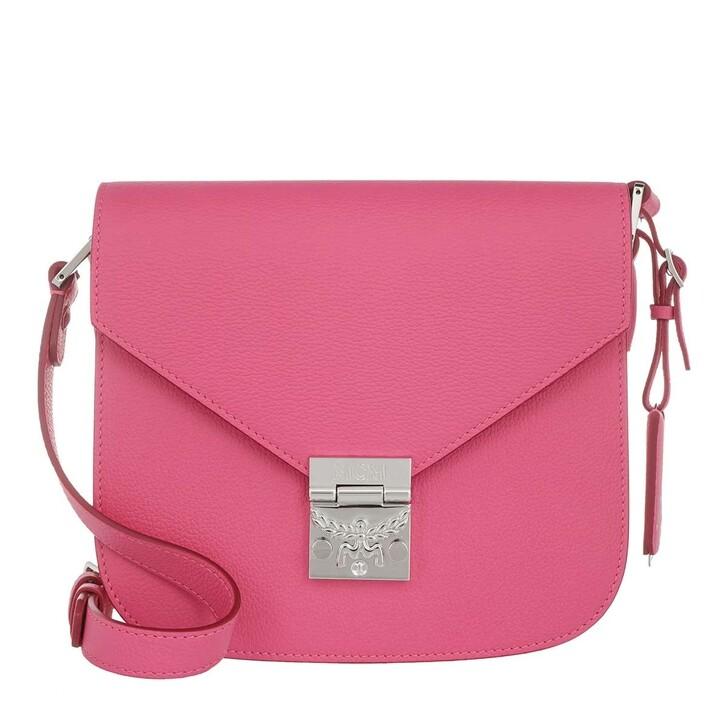 Handtasche, MCM, Patricia Shoulder Small  Sugar Pink