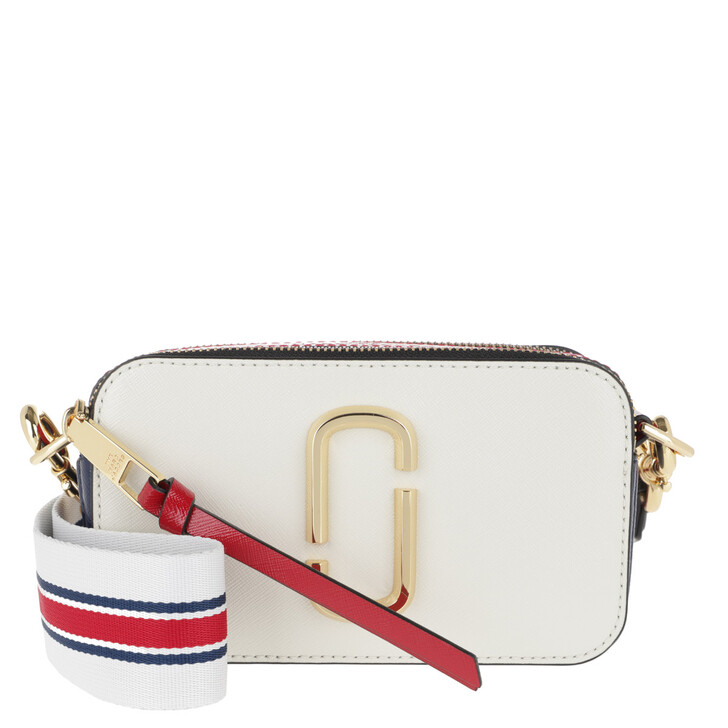 bags, Marc Jacobs, The Snapshot Small Camera Bag Coconut/Multi