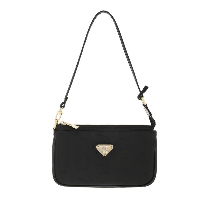 bags, Maison Mollerus, Missy Clutch Black Gold