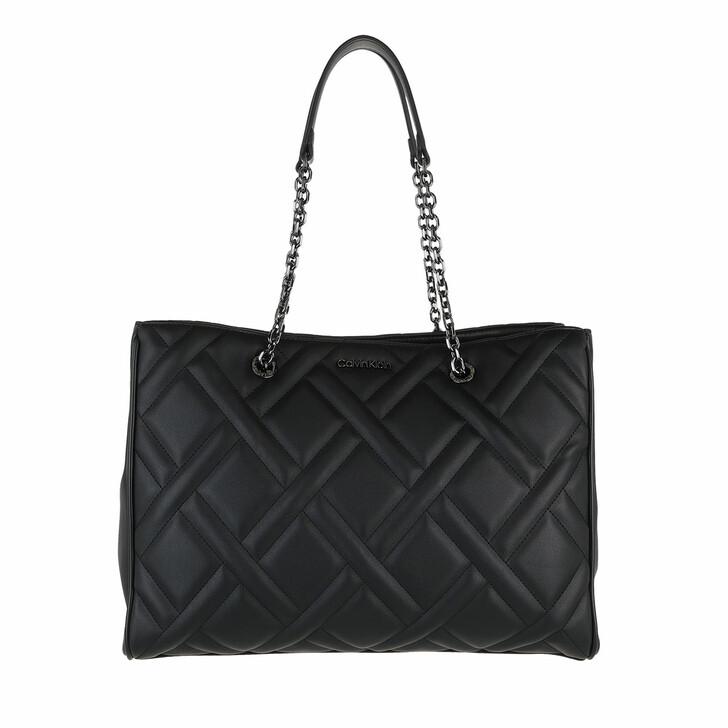 bags, Calvin Klein, CK Quilt Tote Medium