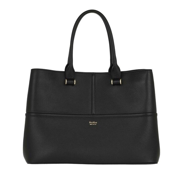 Handtasche, Max Mara, Georgem Shopping Bag Nero