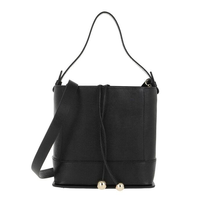 Handtasche, WEEKEND Max Mara, Acciaio Bucket Bag Nero