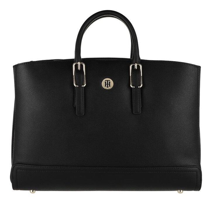 Handtasche, Tommy Hilfiger, Honey Workbag Black
