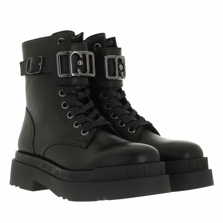 shoes, LIU JO, Love 15  Bootie Calf Black