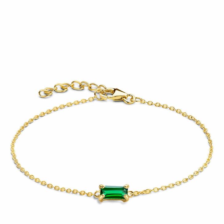 bracelets, Isabel Bernard, Baguette Mirell 14 Karat Bracelet Gold