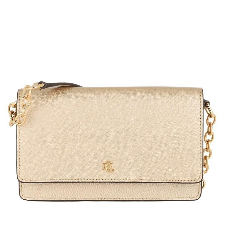 Handtasche, Lauren Ralph Lauren, Winston 19 Crossbody Medium Warm Gold