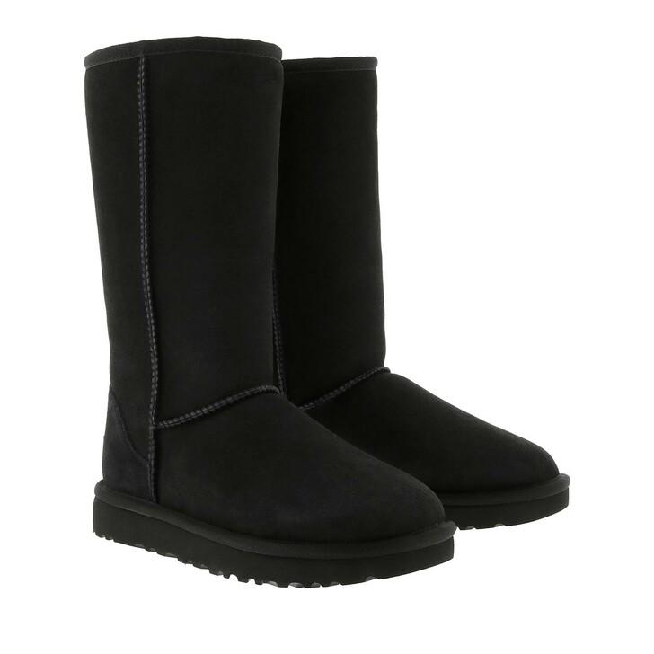 Schuh, UGG, W Classic Tall II Black