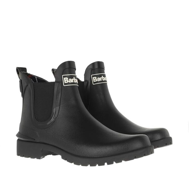 shoes, Barbour, Wilton Boots Black