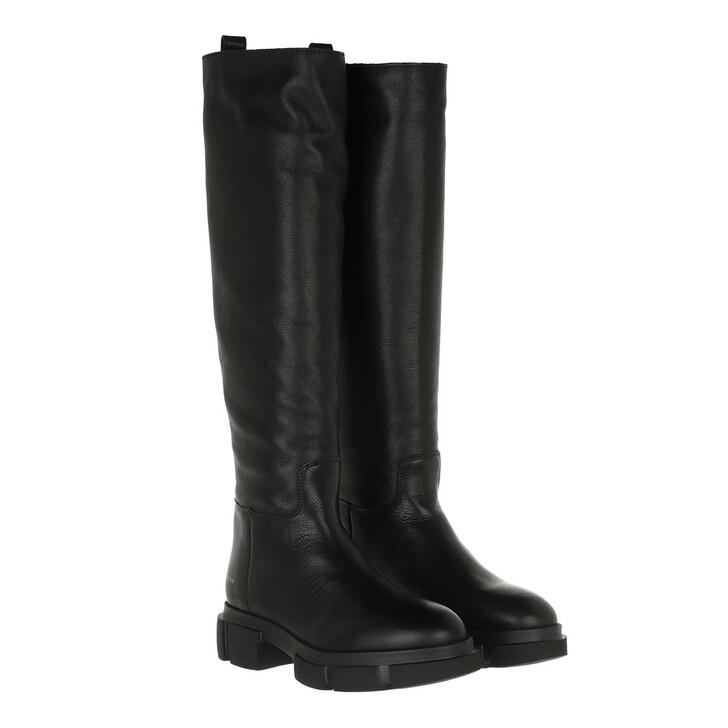 shoes, Copenhagen, CPH551 Boot Knee High Leather Black