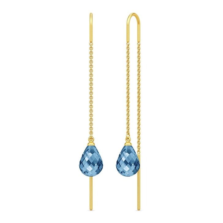 earrings, Julie Sandlau, Avery Droplet Earrings Yellow Gold