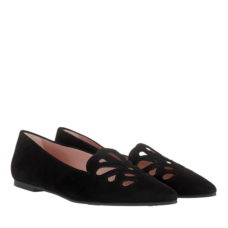 Schuh, Pretty Ballerinas, Ella Pointed Ballerina Shoes Black