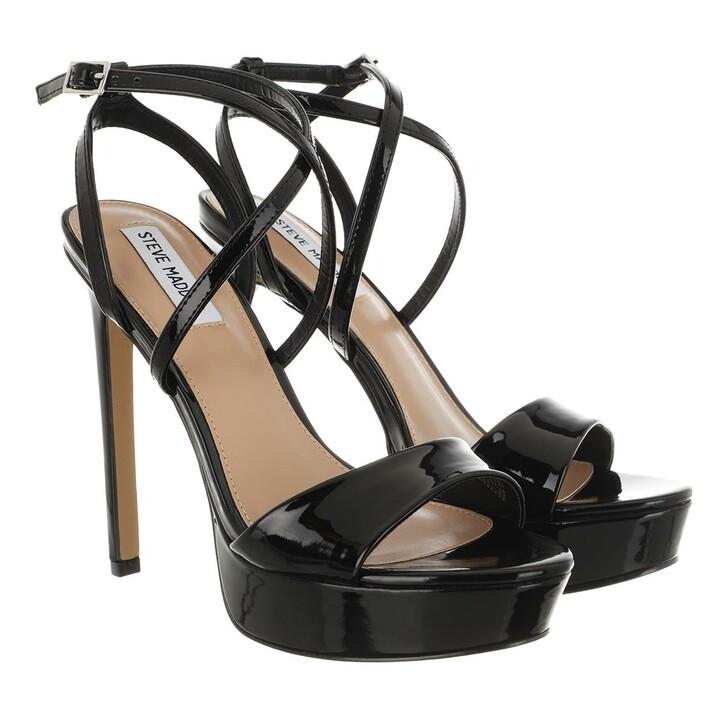 Schuh, Steve Madden, Stunning Sandal Black Patent