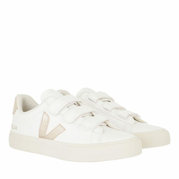 shoes, Veja, Recife Logo Chromefree  Extra-White Platine