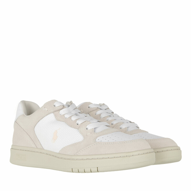 Schuh, Polo Ralph Lauren, Court Sneakers Athletic Shoe White/Stucco