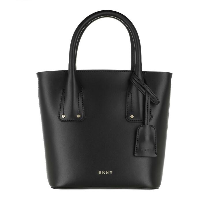 Handtasche, DKNY, Megan Tote Crossbody Black Gold
