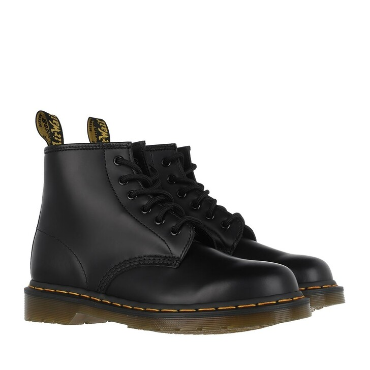 shoes, Dr. Martens, 101 Smooth Boot Leather Black