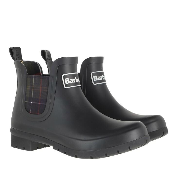 shoes, Barbour, Kingham Boots Black