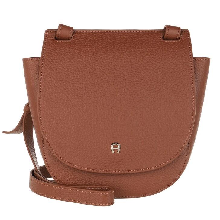 Handtasche, AIGNER, Selma Handle Bag Cognac