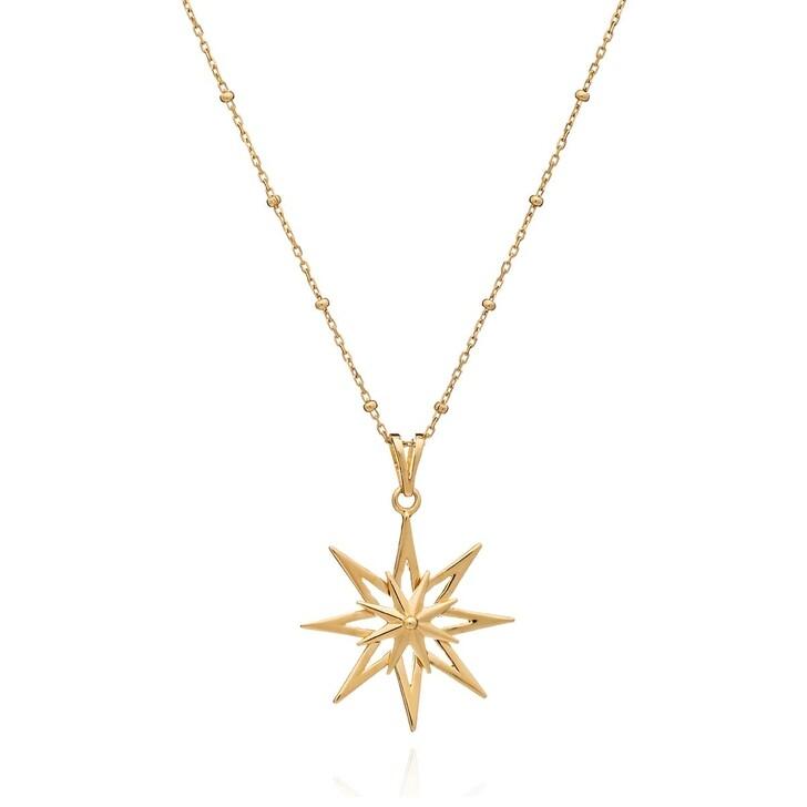 necklaces, Rachel Jackson London, Rockstar Necklace Gold