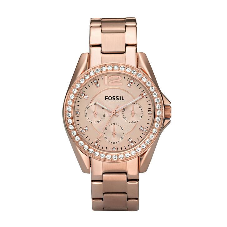 Uhr, Fossil, ES2811 Riley Bracelet Rosegold