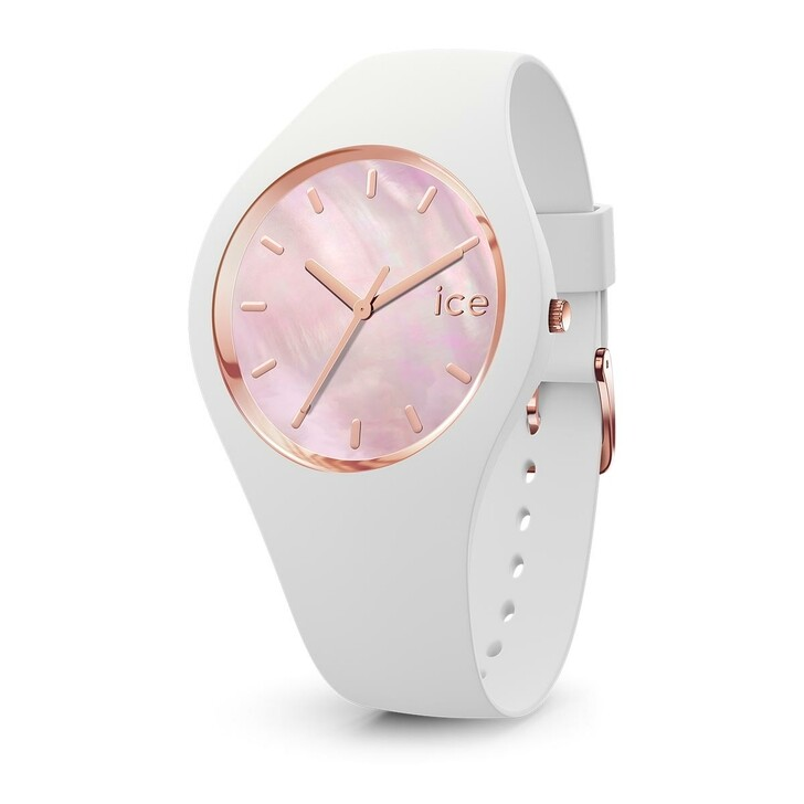 Uhr, Ice Watch, ICE PEARL white