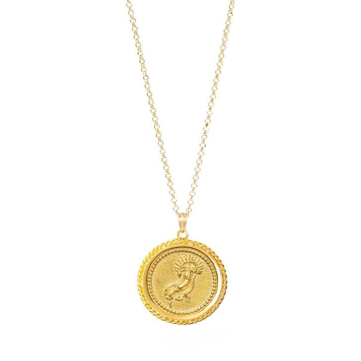 Kette, Hermina Athens, Amalthea Pendant Yellow Gold