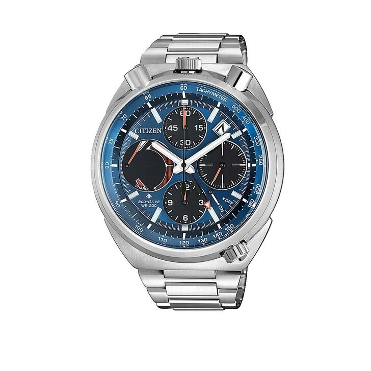 Uhr, Citizen, Promaster Wristwatch Silver Blue-Metallic