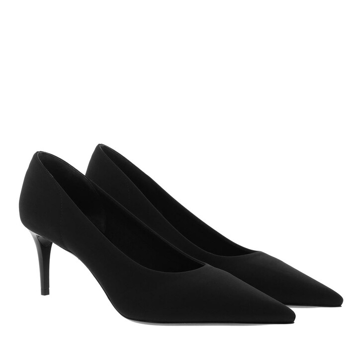 Schuh, Prada, Pumps Plain Leather Black