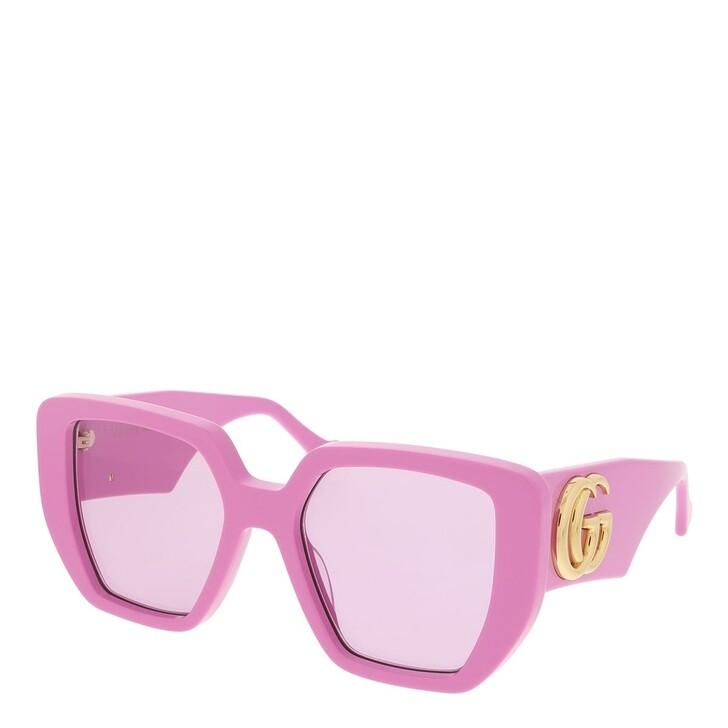 sunglasses, Gucci, GG0956S-006 54 Sunglass Woman Acetate Pink-Pink-Pink