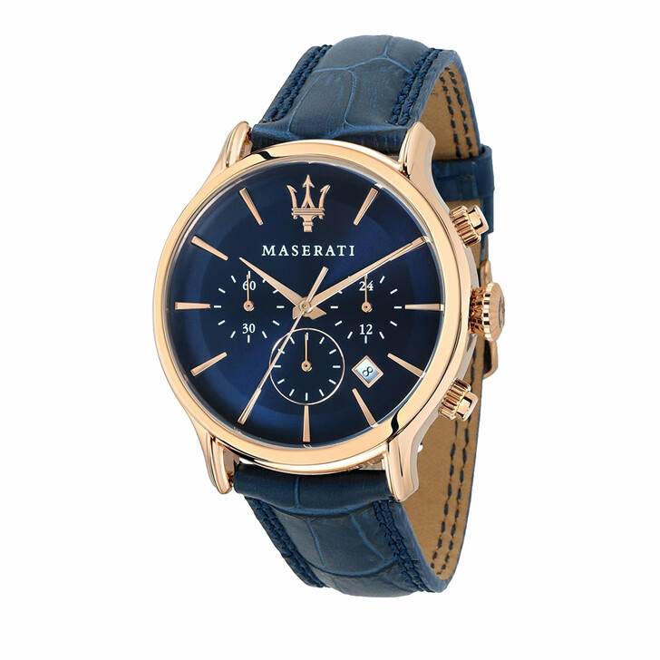 Uhr, Maserati, Epoca Chronograph 42mm Blue