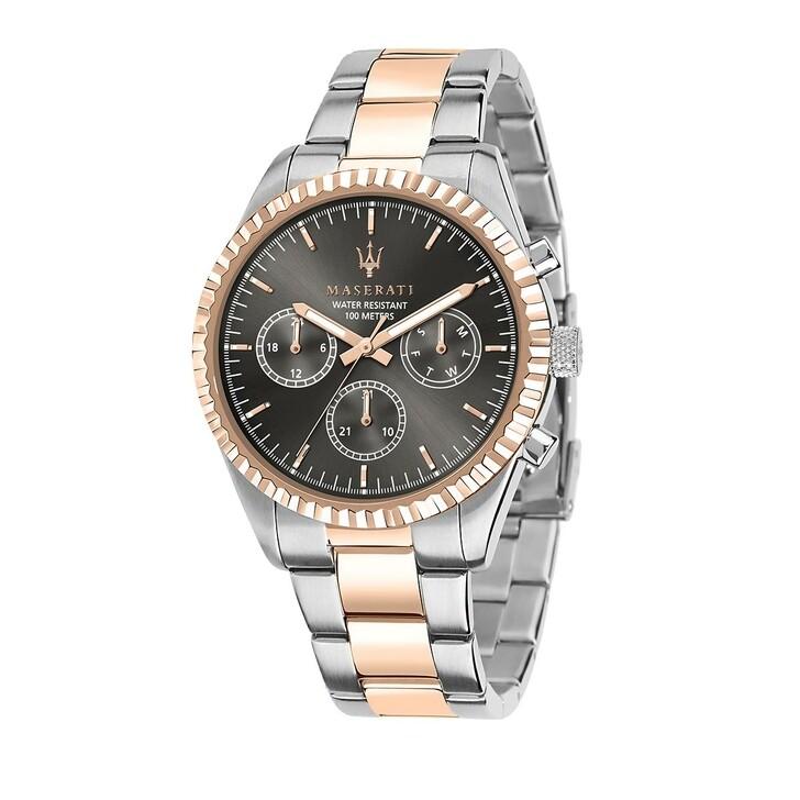 Uhr, Maserati, Watch Hau Competizione 43mm Silver