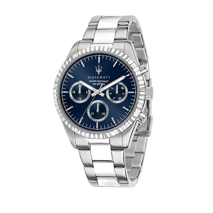 watches, Maserati, Watch Hau Competizione 43mm Silver