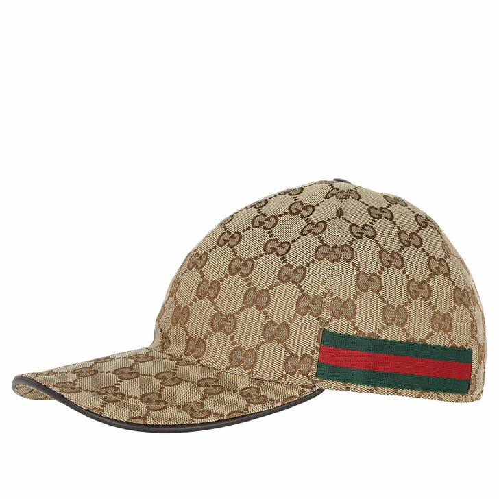 Mütze, Gucci, Monogramm Baseball Hat Beige/Ebony