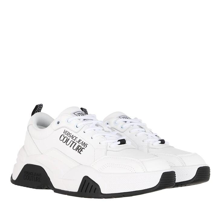 Schuh, Versace Jeans Couture, Linea Fondo Fire 1 Sneaker White