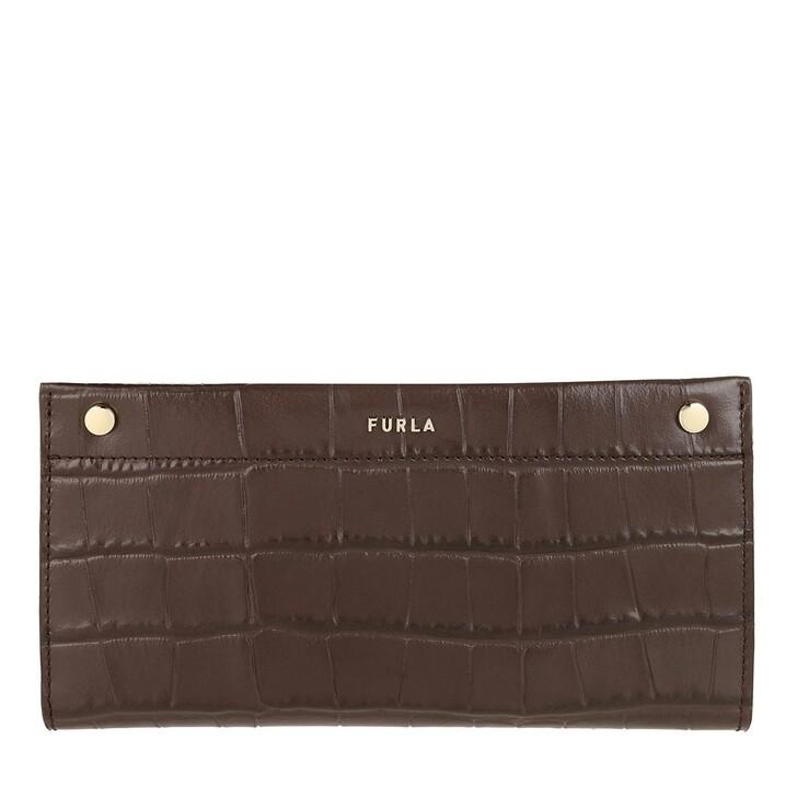 wallets, Furla, Medium Continental Wallet Caffe