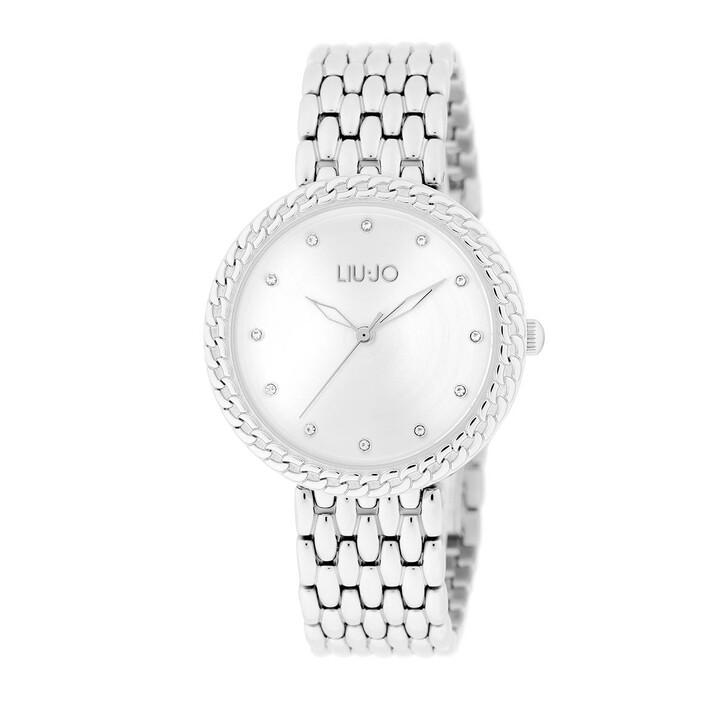 Uhr, LIU JO, TLJ1679 Circle Chain Quartz Watch Silver