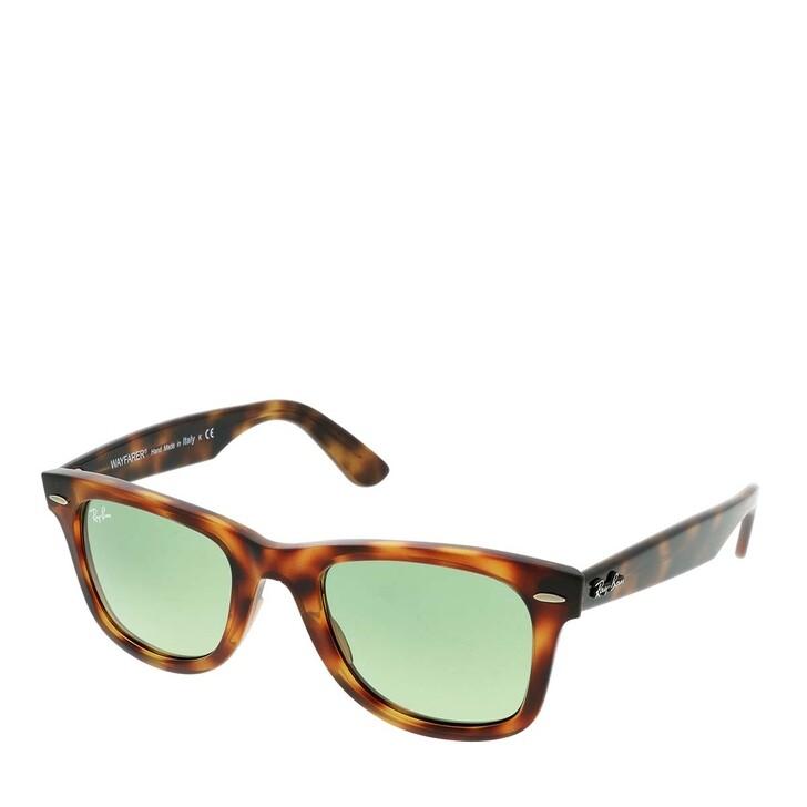 Sonnenbrille, Ray-Ban, Wayfarer Red Havana