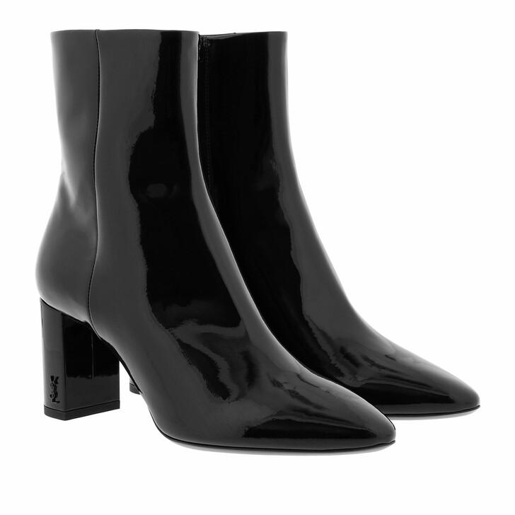 shoes, Saint Laurent, High Ankle Boots Black