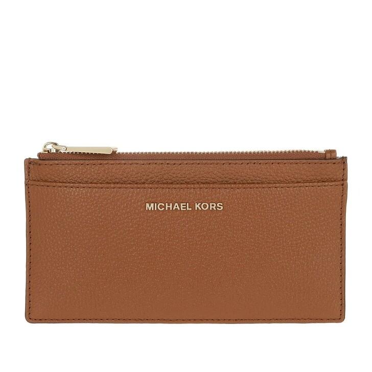 Geldbörse, MICHAEL Michael Kors, Large Slim Card Case Luggage
